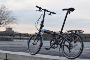 bicicleta plegable ligera poco peso