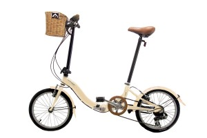 bicicletas plegables con cesta y accesorios