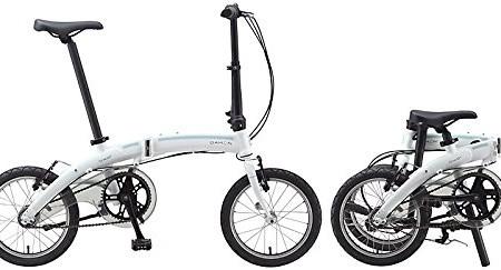 16-Pulgadas-Bicicleta-plegable-Dahon-Curve-i3-3-marchas-Color-Blanco-bicicleta-plegable-para-0