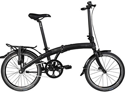 Dahon-Uno-Mu-Bicicleta-plegable-color-negro-mate-0