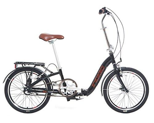 Indigo Flip 3 - Bicicleta plegables , cuadro 13 in, color negro ...