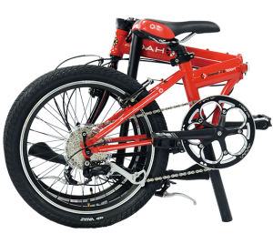 Plegable dahon-speed-d8-2016-roja