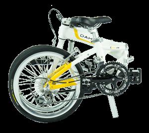 dahon visc d18 del 2016 blanca y amarilla